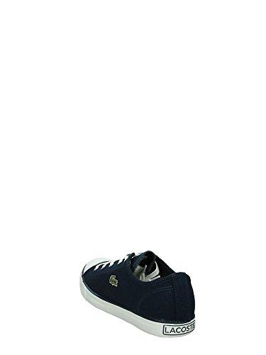 LACOSTE L27 sneakers uomo sportiva lacci TESSUTO NAVY 7-31SPM21395K
