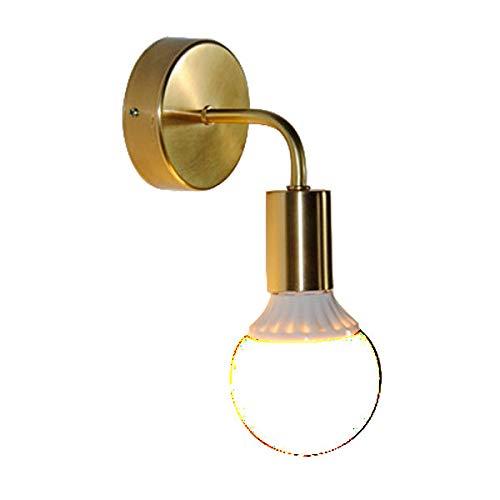 Messing wandleuchte Europäischen kupfer kreative treppenhaus gang licht einfache kerze dekoration nachttischlampe 160  170 cm