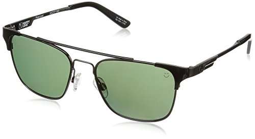Spy Optic Unisex Westport Polarized Sunglasses Gunmetal / Happy Gray Green (Spy Optic Metal)