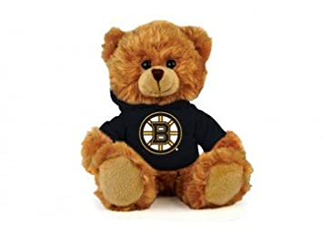 56a1055bd8a Image Unavailable. Image not available for. Colour  Boston Bruins NHL  8 quot  Plush Hoody Teddy Bear