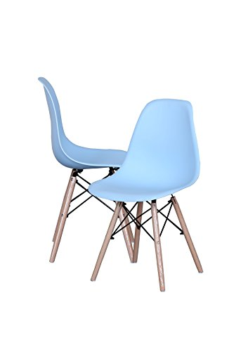 Modern EAMES Style Chair Natural