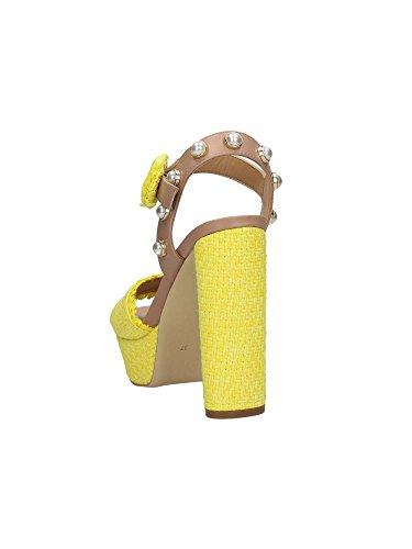 GUESS FLMIC2FAB05 Sandalias Mujer Amarillo