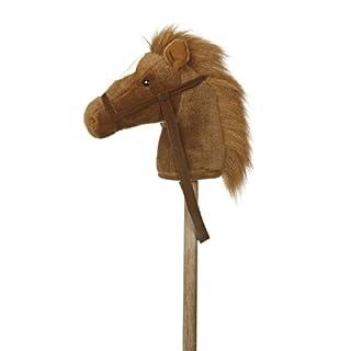 "Aurora World World Giddy-Up Stick Pony 37"" Plush, Brown - 02416"