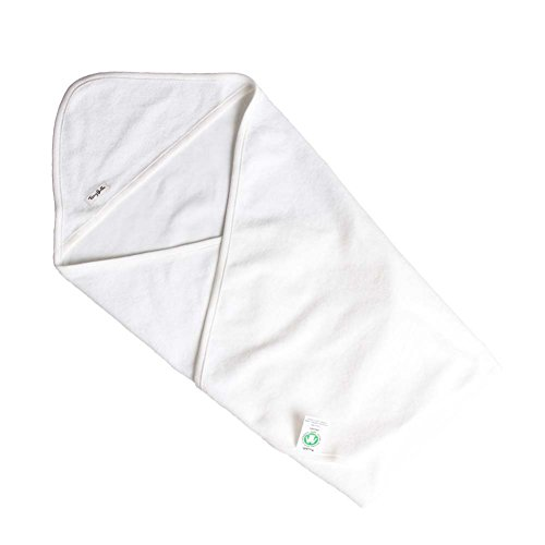Cotton Organic Newborn baby White Blanket Swaddle lightweight stroller blanket 0-6 months GOTS Certified Unisex Perfect for infant boys and girls Registry gifts layette (3 Month Lightweight Strollers)