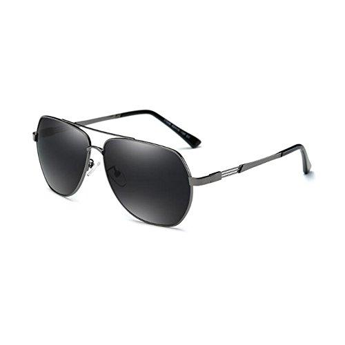 De color Black Gafas Gafas dark De gray Polarizadas Vacío Hombres gray Sol Gun nbsp; nbsp; dark Del Ligero Para Color Protección 400UV HONEY Conducción Revestimiento Sunny Completa De E4xqCC