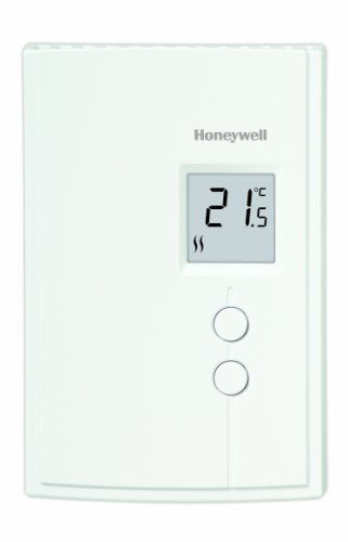 Honeywell RLV3120A1005/E1 Digital Non-Programmable Thermostat for Electric Baseboard - Honeywell Baseboard Thermostat