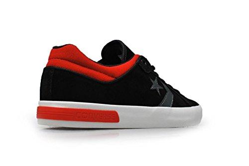 Converse Herren Schuhe Start Street II Schwarz Rot Weiß
