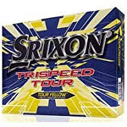 Srixon 2017 Trispeed Tour Golf Balls Yellow