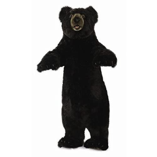 Standing Upright Black Bear Stuffed Animal