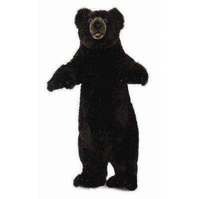 Standing Upright Black Bear Stuffed Animal - Standing Black Bear