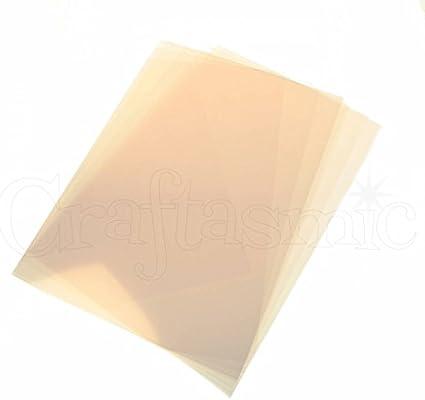 Crafters Companion ACETHR001, Acetato resistente al calor, 160 g ...