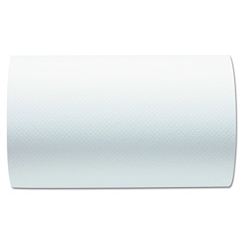 Georgia-Pacific GPC26610 Professional 26610 Hardwound Paper Towel Roll, Nonperforated, 9 x 400ft, White (Case of 6 - In Atlanta Georgia Outlets