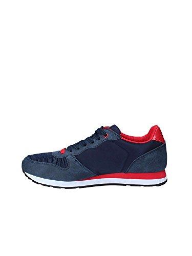 Con Laterale Tessuto Sneaker In Polo Logo Para Camoscio E Gomma AX6Tqw