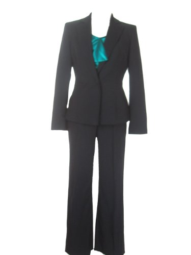 ANNE KLEIN Urban Gem 3PC Jacket/Pants/Cami Suit