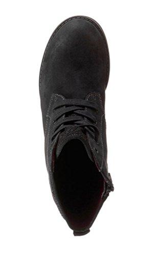 s Oliver 25110 de 5 5 Negro mujer Botas negro 001 para 25 tela rrpA4qdx