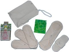 Hemp Menstrual Pads - WillowPads New To Cloth Kit