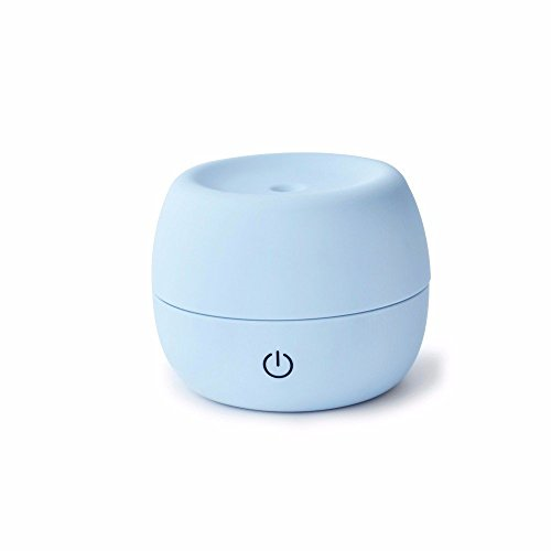HOMEE Mute the purifier air humidifier lights humidifier lights bedroom aroma humidification machine humidification mini device,Blue by HOMEE