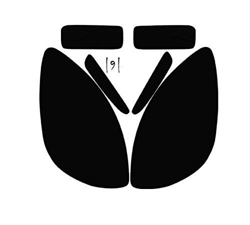 Subject 9 - Fits: Corvette (Z06/ZR1/Grand Sport) Pre-cut vinyl overlay Headlight PLUS tint (2005 2006 2007 2008 2009 2010 2011 2012 2013) DARK