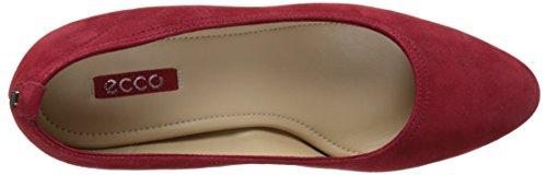 ECCO Altona, Zapatos de Tacón para Mujer Rojo (15466chili Red)