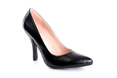 Grandes Andres AM591 en Noir 45 32 Femmes 42 35 Pointures Escarpins Machado Soft Pointures Petites Pour AArxqPBwT