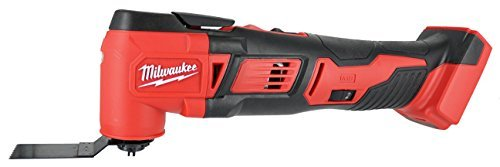 Milwaukee 2626-20 M18 18V Lithium Ion Cordless 18,000 OPM Orbiting Multi Tool with Woodcutting Blades and Sanding Pad with Sheets Included (Battery Not Included, Power Tool Only)