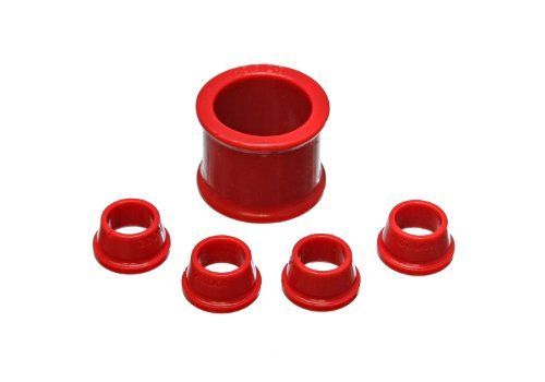 Bushings Suspension Crx Energy (Energy Suspension 16.10101R Rack And Pinion Bushing Set Fits 88-91 Civic CRX)