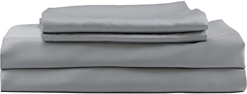 Hotel Sheets Direct 100% Bamboo Bed Sheet Set (King, Grey)