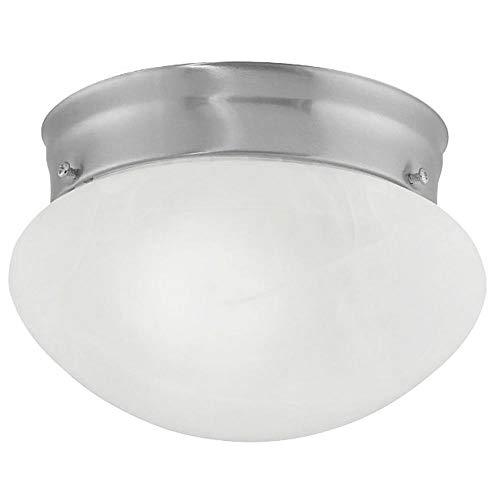 6-Inch Flushmount Mushroom Ceiling Light