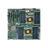 (Supermicro Motherboard MBD-X10DRI-LN4+-B LGA2011 E5-2600v3 C612 DDR4 SATA Enhanced Extended ATX Brown Box)