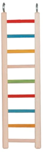 Paradise Toys 18-Inch Wood Cockatiel Ladder (Wood Cockatiel Ladder)
