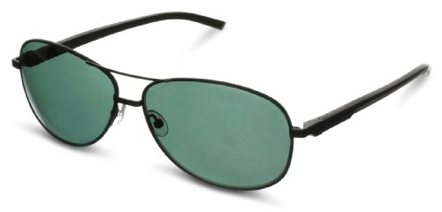 Tag Heuer Automatic 884 311 Polarized Rectangular Sunglasses,Black,62 - Heuer Automatic Tag Sunglasses