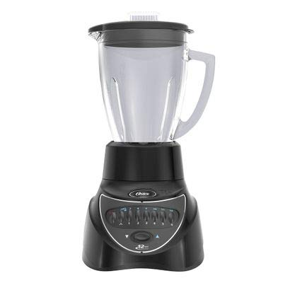 Oster BLSTEG7806B Blender with glass jar and 12 speeds for 220/240 volt. (Will not work in USA or Canada) 6 Cup ()