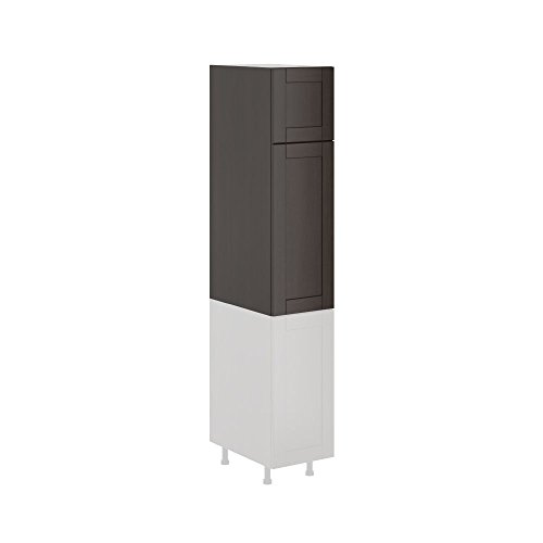 Kitchen Cabinet Choco Wood Shaker Style 15×49 Tall Cabinet