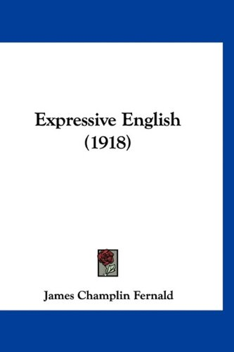 Expressive English (1918) PDF