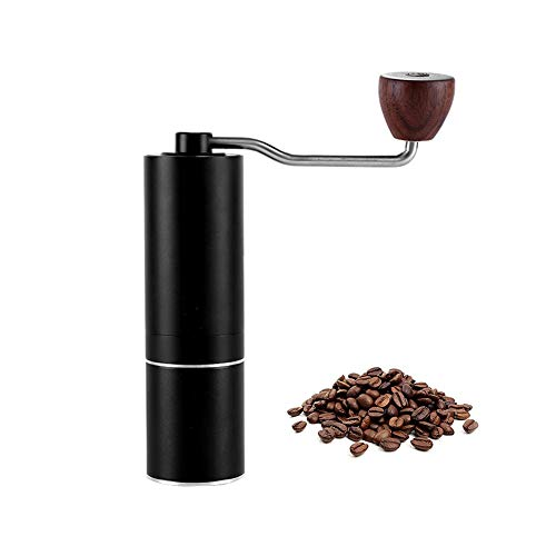 Manual Burr Coffee Grinder with Stainless Steel Conical Burr, Consistency Grinding