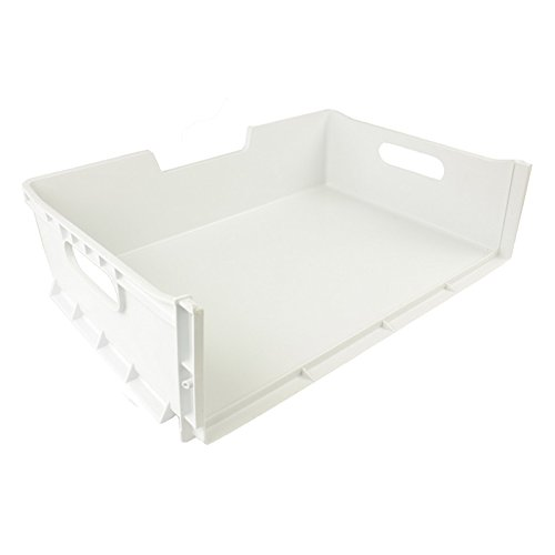 Ariston Refrigerator Drawers (Hotpoint Fridge Freezer Drawer Basket Plastic Box Tray (White))