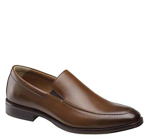 (Johnston & Murphy Men's Reynolds Venetian Tan Full Grain 9.5 M US)