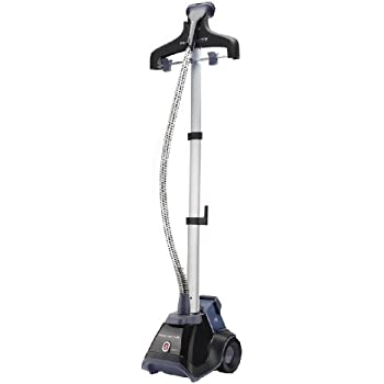 Rowenta IS6200 Compact Valet Full Size Garment and Fabric Steamer with Foot Operated On-Off Switch, 1500-Watt, Blue