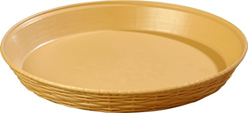 Carlisle 652667 WeaveWear Round Serving Basket, 12