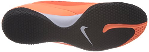 Nike Hypervenom Phelon IC Hallen Fussballschuhe hyper crimson-atomic orange-white-black - 44