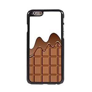 MOM Chocolate Pattern Aluminum Hard Case for iPhone 6 Plus