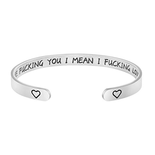 Joycuff Funny Gifts for Wife Girlfriend Birthday Christmas Personalized Gag Gifts for Women (Birthday Girlfriend Gift Good For)
