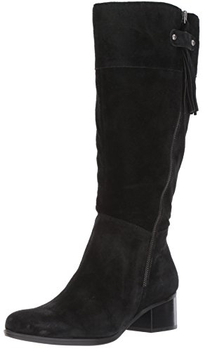 Naturalizer Women's Demi Wc Riding Boot, Black, 9 M US