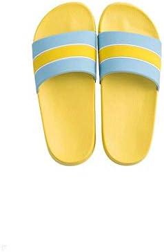 Beach slippers サンダルとスリッパ新しい女性のビーチ夏の滑り止めソフトボトムカップル屋内靴 (Color : A, Size : 38/39)