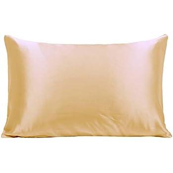 Amazon Com Ravmix Silk Pillowcase Standard Size For Hair