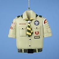 Boy Scout Tan Shirt Christmas Ornament