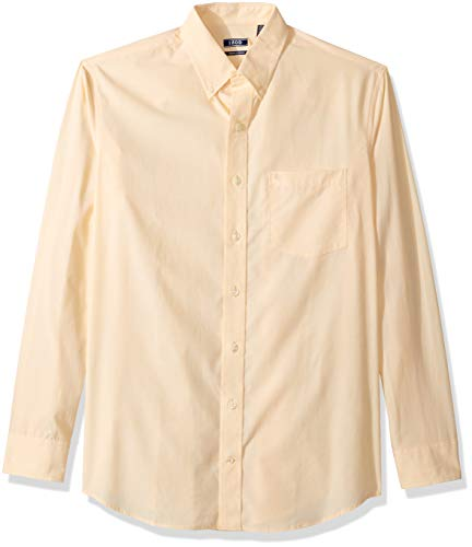 IZOD Mens Premium Performance Natural Stretch Solid Long Sleeve Shirt (Big & Tall and Tall Slim)