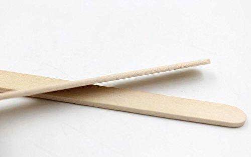 Karlash Ice Cream Stick Straight Edge 100 pc (Multipack of 50)