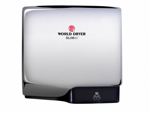 (Slimdri Surface Mount Hand Dryer in Polished Stainless Steel)