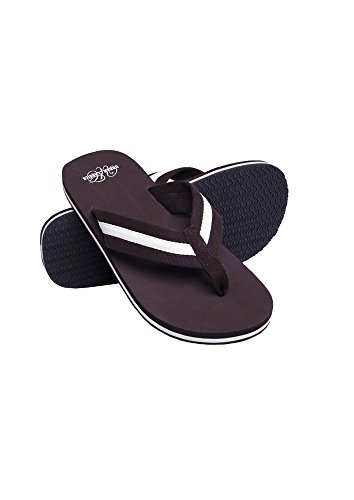 Urban Classics Beach Slippers bro/wht